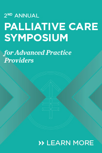 2nd Annual Palliative Care Symposium for Advance Practice Providers Banner