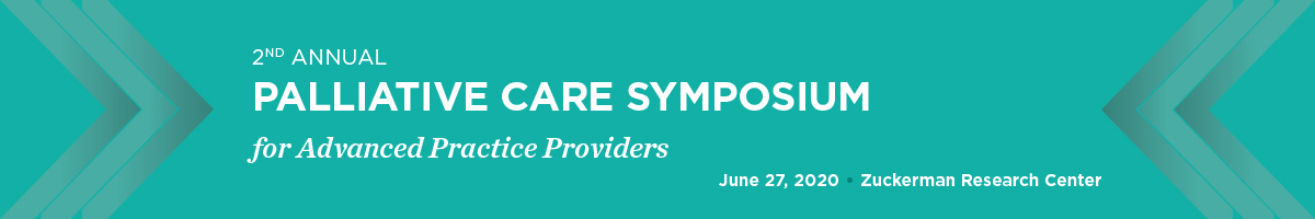 CANCELED - 2nd Annual Palliative Care Symposium for Advance Practice Providers Banner