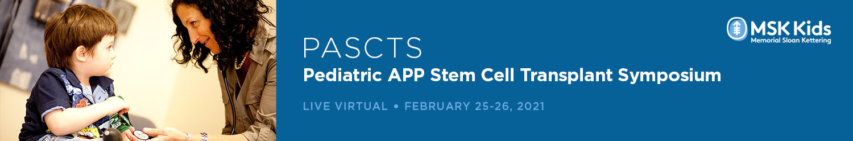 Pediatric APP Stem Cell Transplant Symposium (PASCTS) Banner