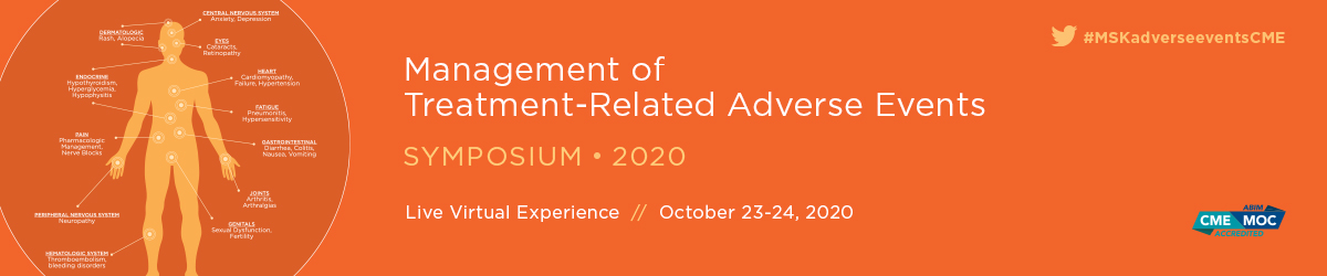 Management of Treatment-Related Adverse Events Symposium Banner