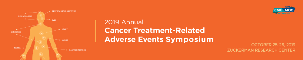 2019 Annual Cancer Treatment-Related Adverse Events Symposium Banner
