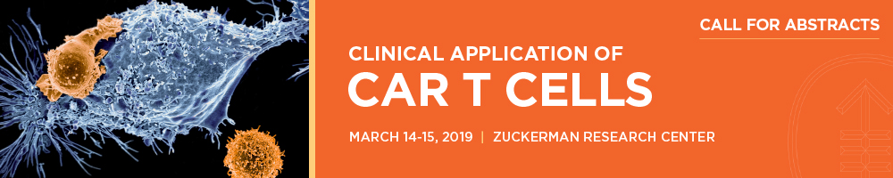 Clinical Application of CAR T Cells 2019 Banner