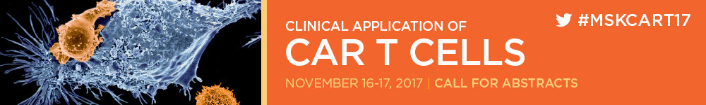 Clinical Application of CAR T Cells 2017 Banner
