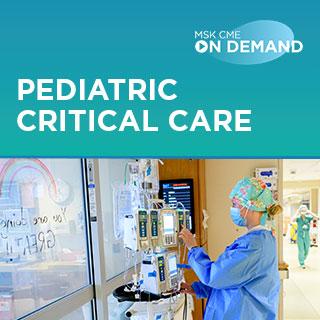 2021 Pediatric Critical Care - On Demand Banner