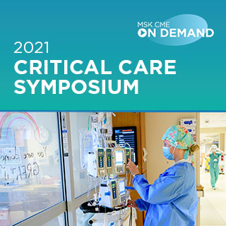 2021 Critical Care Symposium - On Demand Banner