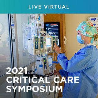 2021 Critical Care Symposium Banner