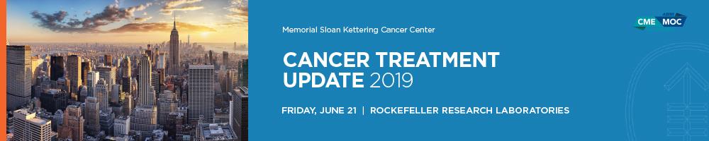 Cancer Treatment Update 2019 Banner