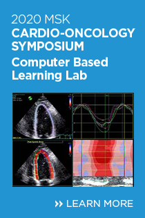 2020 MSK Cardio-Oncology Symposium - Computer Based Learning Lab Banner