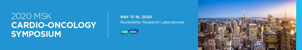 CANCELED - 2020 MSK Cardio-Oncology Symposium Banner
