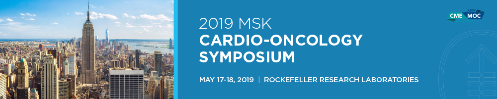 2019 MSK Cardio-Oncology Symposium Banner