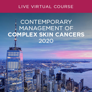 Contemporary Management of Complex Skin Cancers 2020 Banner