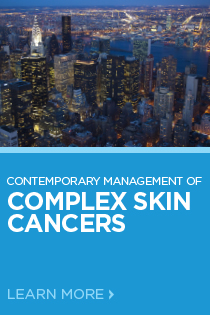 Contemporary Management of Complex Skin Cancers 2018 Banner