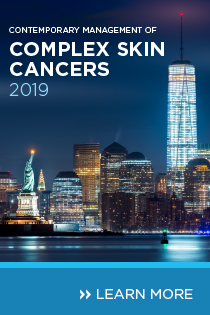 Contemporary Management of Complex Skin Cancers 2019 Banner