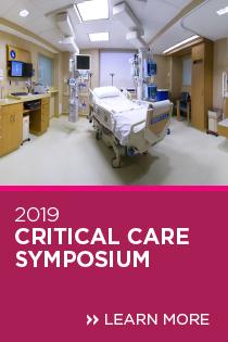 2019 Critical Care Symposium Banner