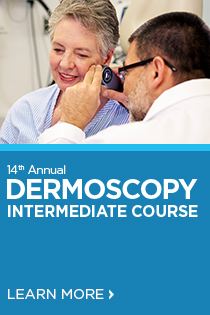 14th Annual Dermoscopy Intermediate Course Banner