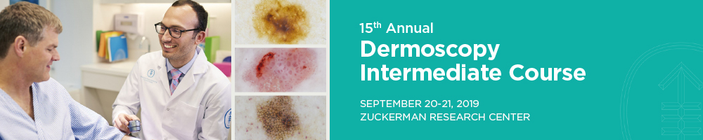 15th Annual Dermoscopy Intermediate Course Banner