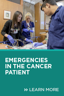 Emergencies in the Cancer Patient 2019 Banner