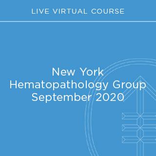 New York Hematopathology Group September 2020 Banner