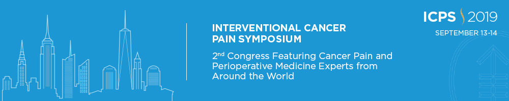 MSK's 2nd Congress - Interventional Cancer Pain Symposium Banner