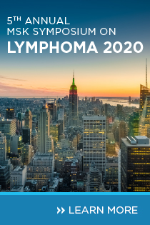 5th Annual MSK Symposium on Lymphoma Banner