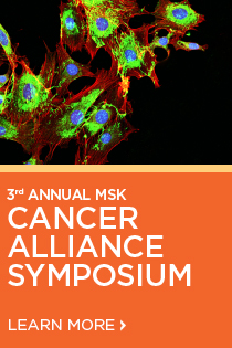 3rd Annual MSK Cancer Alliance Symposium - Innovations in Personalized Oncology: A Case-Based Approach Banner