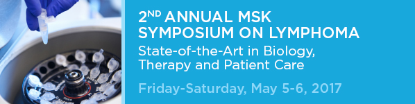 2nd Annual MSK Symposium on Lymphoma Banner