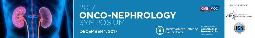 2017 Onco-Nephrology Symposium Banner