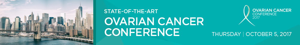 State of the Art Ovarian Cancer Conference 2017 Banner