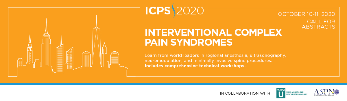 MSK's 2nd Congress: Interventional Cancer Pain Symposium 2019 Banner