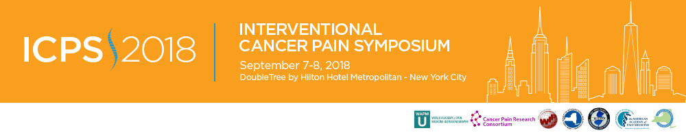 Interventional Cancer Pain Symposium 2018: Technical Workshop in