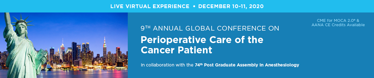 9th Annual Global Conference on Perioperative Care of the Cancer Patient Banner