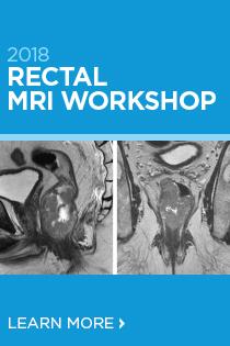2018 Rectal MRI Workshop Banner