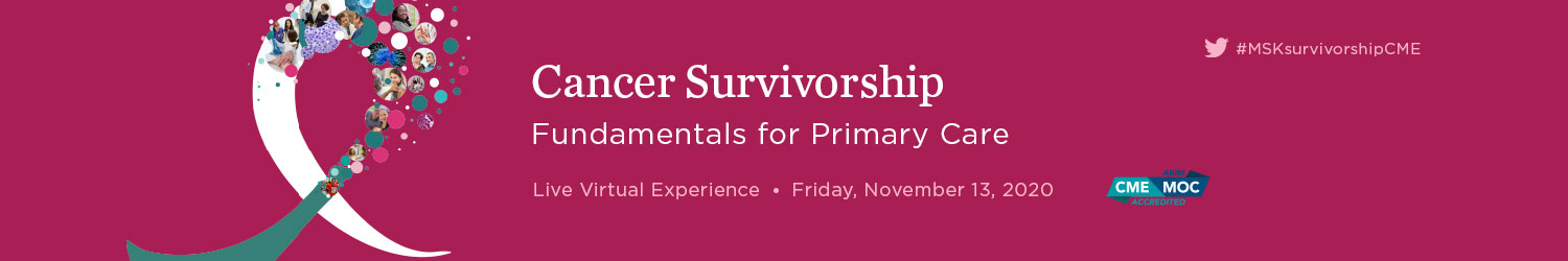 Cancer Survivorship: Fundamentals for Primary Care Banner