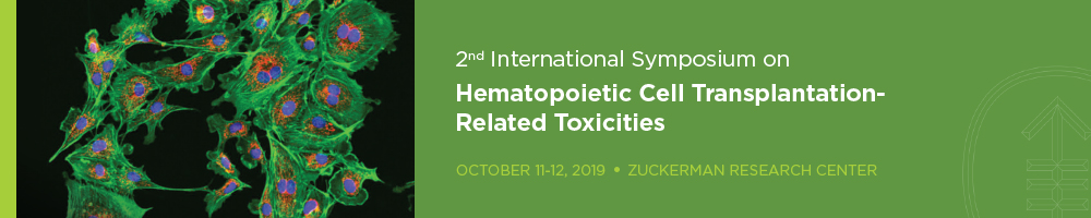 2nd International Meeting on Treatment Related Toxicities of Hematopoietic Cell Transplantation Banner