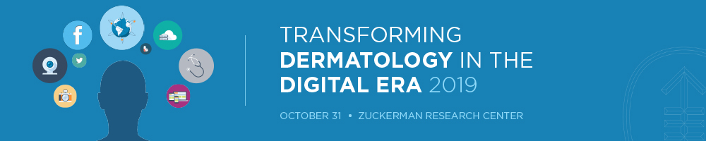 Transforming Dermatology in the Digital Era 2019 Banner