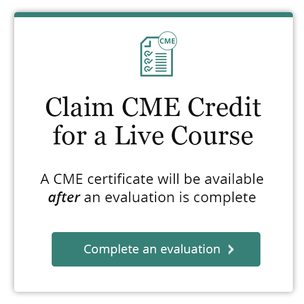 Claim Credit for Live Course