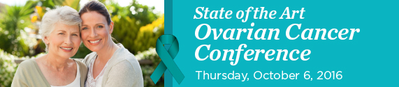 State of the Art Ovarian Cancer Conference 2016 Banner